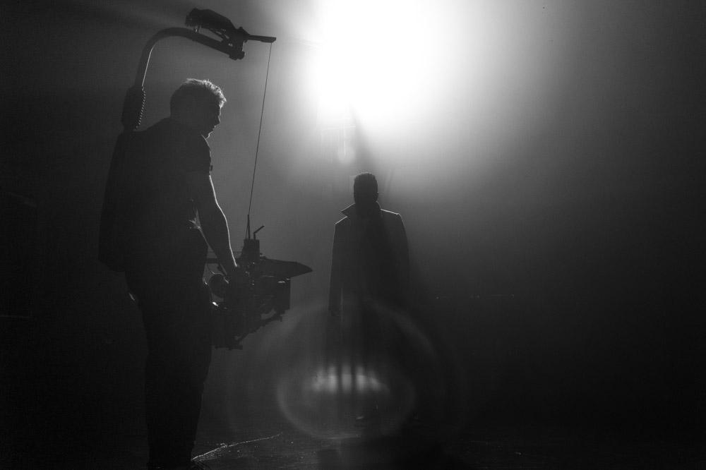 Cameraman Arri Alexa behind the scenes
